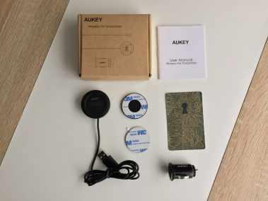 image Test du transmetteur Bluetooth / FM Aukey avec chargeur USB pour voiture 2
