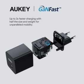 image Aukey annonce la nouvelle technologie GaNFast sur 3 nouveaux chargeurs 5
