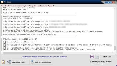 image Tutorielle pour réparer Windows avec le logiciel (Windows repair) 6