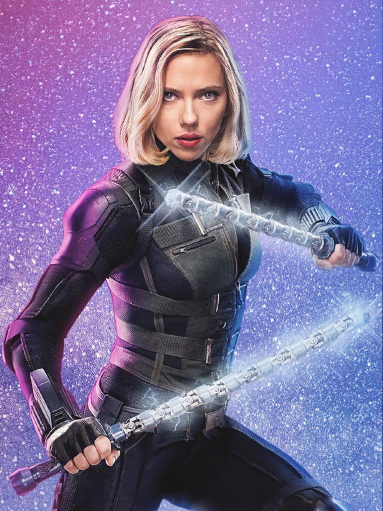"""image Look de """"Black Widow"""" Natasha Romanoff dans Avengers Infinity War (Combinaison et Veste) 4"""