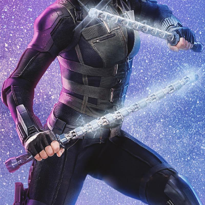 """image Look de """"Black Widow"""" Natasha Romanoff dans Avengers Infinity War (Combinaison et Veste) 18"""