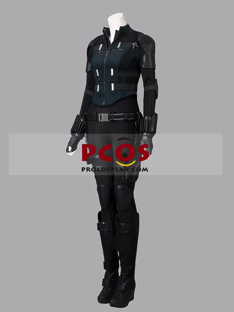 """image Look de """"Black Widow"""" Natasha Romanoff dans Avengers Infinity War (Combinaison et Veste) 9"""