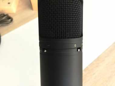 image Test du microphone cardioïde USB Aukey à condensateur 4
