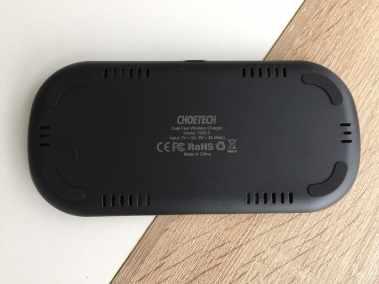 image Test du chargeur sans fil double de CHOETECH pour smartphones 4