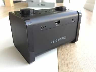 image Test du radioréveil Aukey avec enceinte Bluetooth et minuterie de sommeil 6