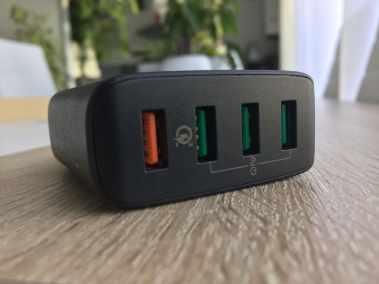 image Test du chargeur secteur Aukey 42W avec 4 ports USB et Quick Charge 3.0 4
