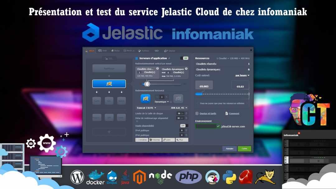 image en-tête Jelastic Cloud chez Infomaniak, découverte et installation de Wordpress