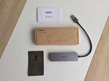 image Test du hub USB 3.0 4 ports ultra slim de Aukey 3