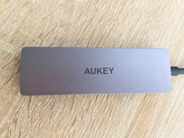 image Test du hub USB 3.0 4 ports ultra slim de Aukey 6