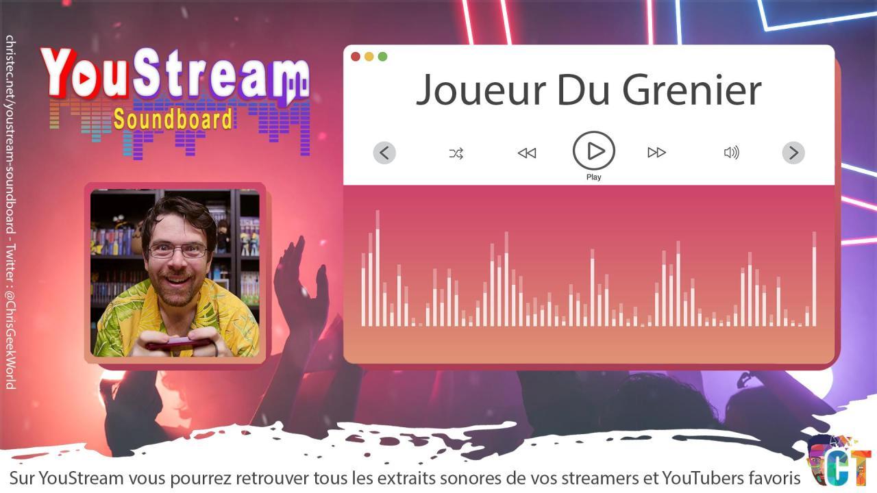 YouStream Joueur Du Grenier