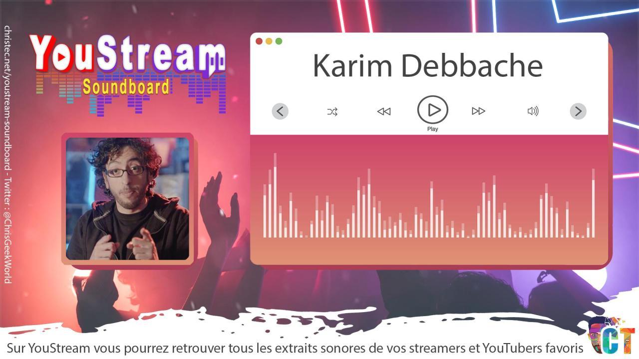 YouStream Karim Debbache