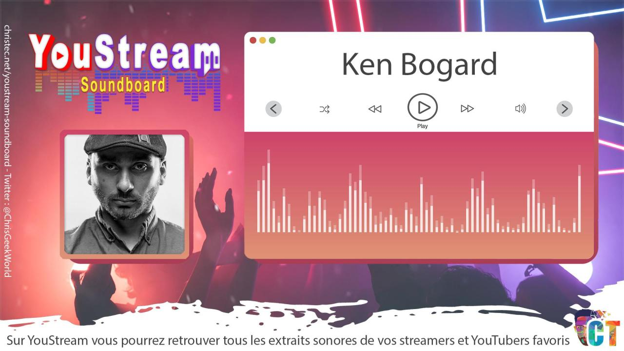 YouStream Ken Bogard