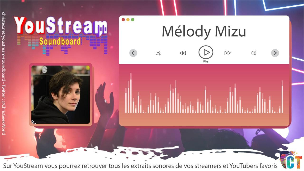 YouStream Mélody Mizu