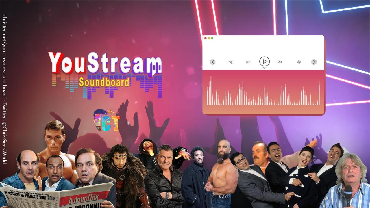 YouStream plus de sons