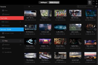 image Découverte du logiciel 5KPlayer le lecteur vidéo 4K gratuit qui télécharger les vidéos YouTube 10