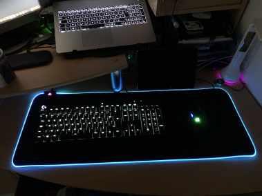 image Test tapi de souris KM-P6 RVB pour gamer de chez Aukey 9