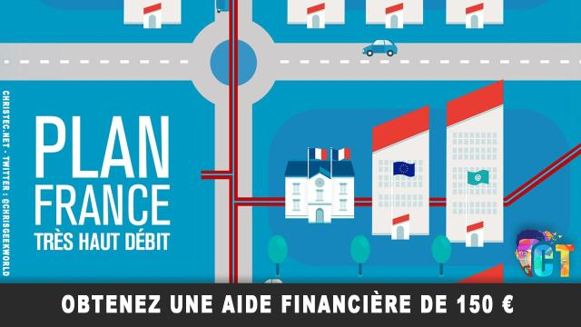 Mission France très haut débit, obtenez une aide financière de 150 €