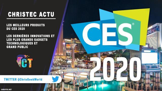 Les meilleurs produits du CES 2020