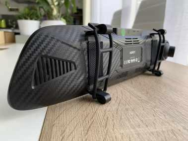 image Test dashcam rétroviseur a écran tactile avec caméra de recul 6