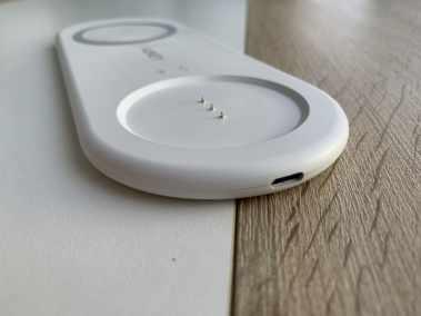 image Test de la veilleuse avec chargeur sans fil pour smartphone de chez Aukey 6