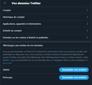Twitter profilage 5