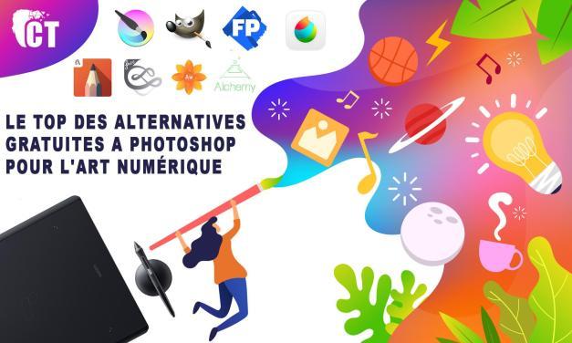 Le top des alternatives gratuites a Photoshop pour l'art numérique