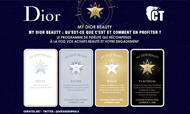 My Dior Beauty : qu'est-ce que c'est et comment en profiter ?