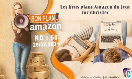 Bons Plans Amazon (68) 26 / 02 / 2021