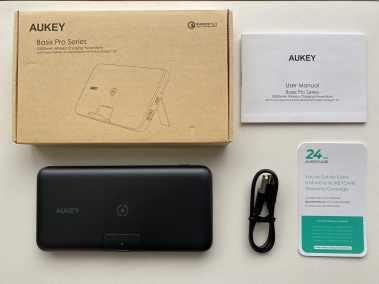 image Test de la batterie externe Aukey PB-WL02 10000mAh avec chargeur sans fil 2