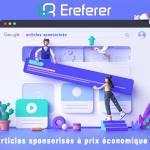 Achetez des articles sponsorisés à prix économique avec Ereferer