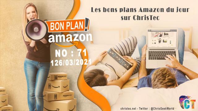 Bons Plans Amazon (71) 26 / 03 / 2021