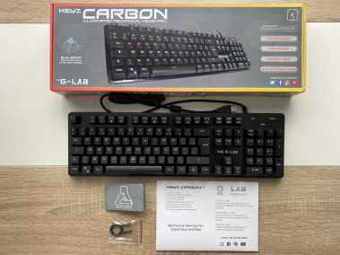 image Test du clavier mécanique gamer G-LAB Keyz CARBON V3 3