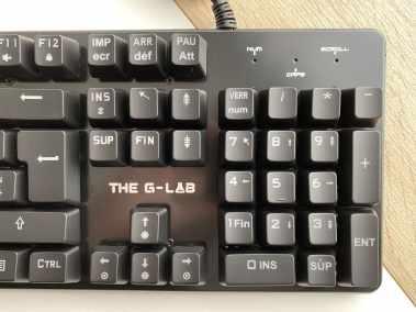 image Test du clavier mécanique gamer G-LAB Keyz CARBON V3 4