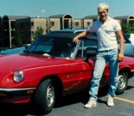 Me and Alfa Romeo in 1987