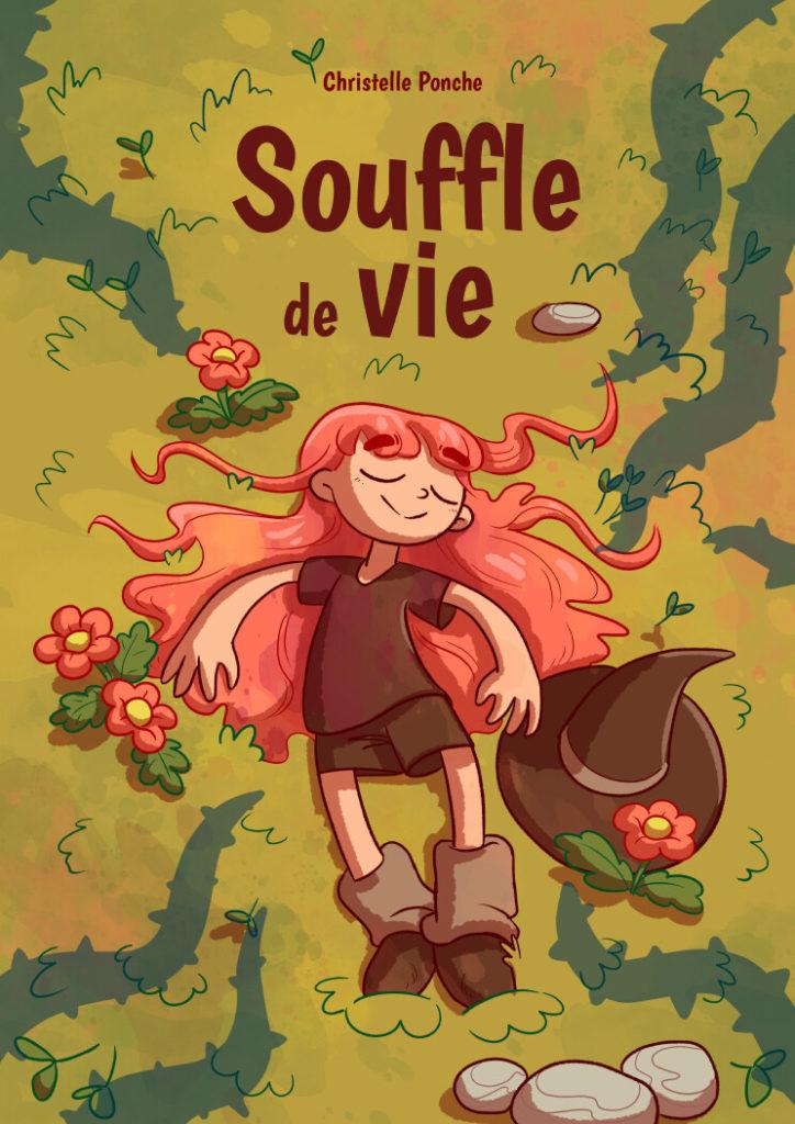 bande dessinée écologique les sorcières affronte des plantes envoutés par une magie noire christelle ponche couverture