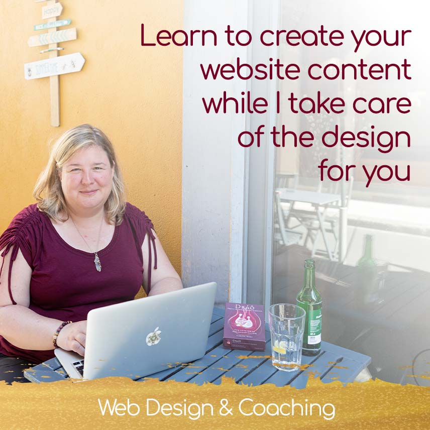 Chirstel Mesey Coaching - Learn to create your website content while I take care of its design for you