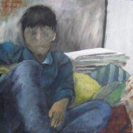 Am Boden zerstört, 50cm x 50cm, Acryl/LW, 2015