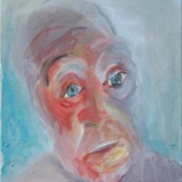 Ohne Worte, 40x40cm, Acryl/LW, 2009
