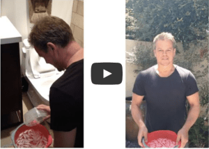Matt Damon - upworthy.com water bucket challenge