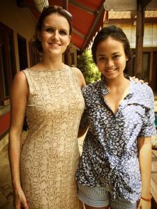 Natisa Jones and Christel Bali