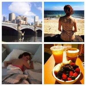 "Christel Rosenkilde Christensen and her health practices on her ""Treasure - change the world tour"""