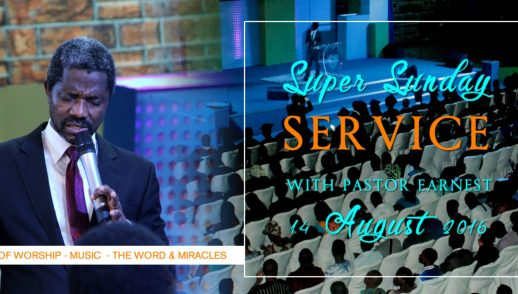 SUPER SUNDAY WITH PASTOR EARNEST