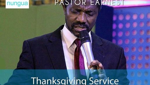 Pastor Earnest Omoleme Sermon