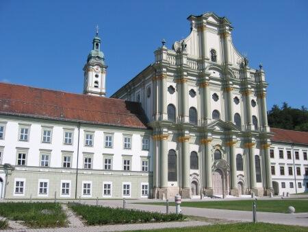 Bild der Klosterkirche Fürstenfeld