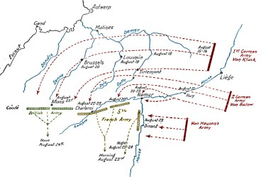 German_advance_through_Belgium,_August_1914