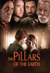 Poster art for the Pillars of the Earth television series
