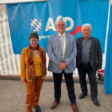 Aufstellungsversammlung der AfD Bayern - Impressionen vom 1. Wochenende