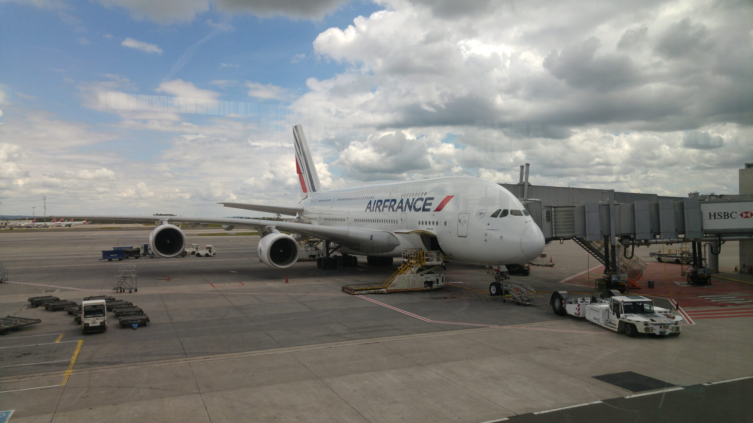 Flying with Air France