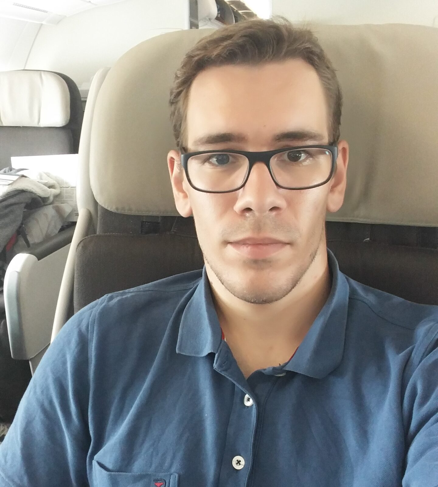 Flying to Google California