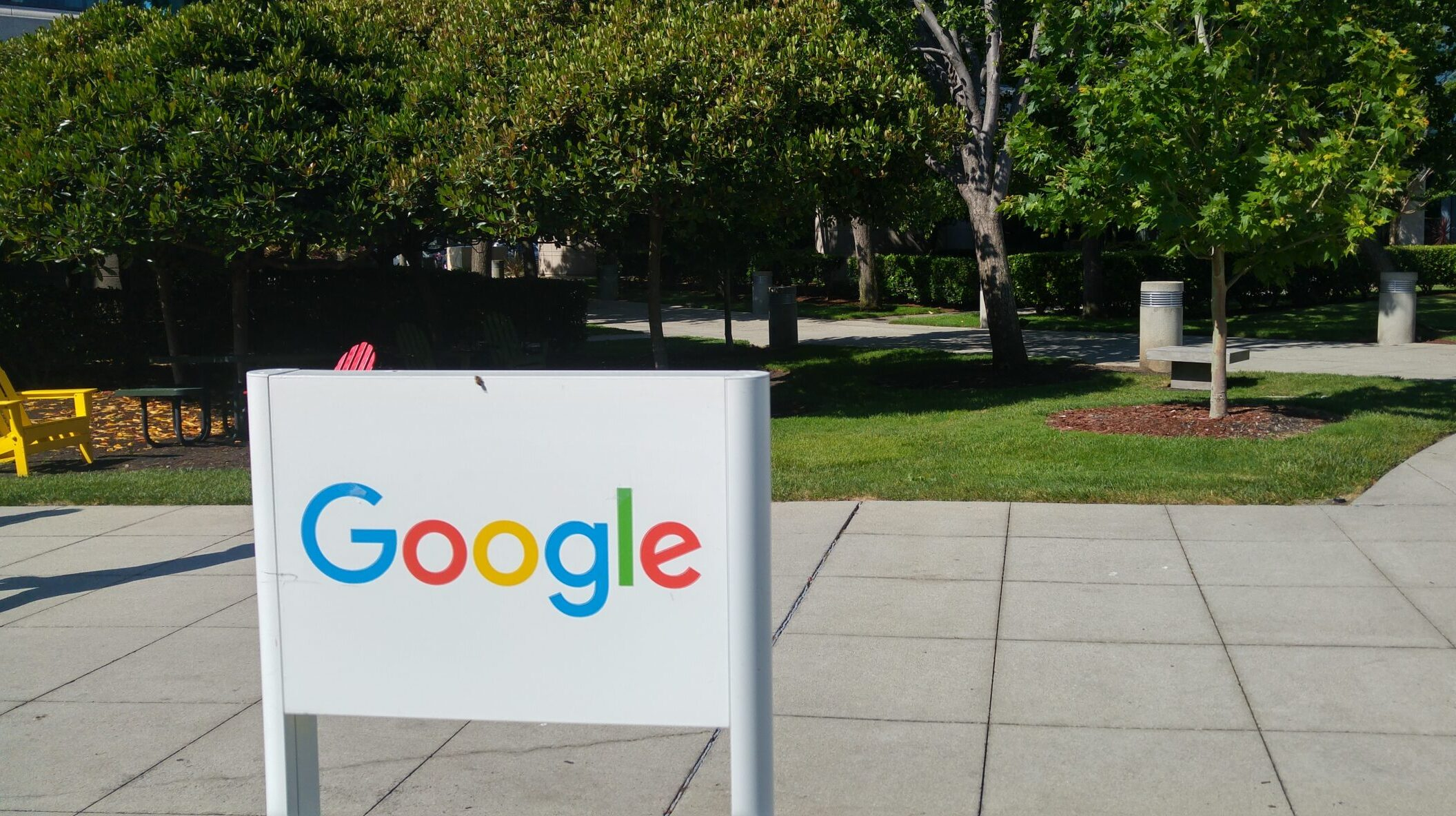 Visiting Google in Mountain View